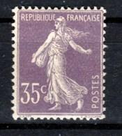 France - Timbre De 1906 Yvert 136 X Cote 170€ - 1906-38 Semeuse Camée