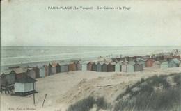 Le Touquet - Paris Plage - Les Cabines Et La Plage - Le Touquet