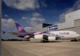 Airbus A380-800 Thai International Air Airlines Aviation Aereo A380 Avion Aircraft A.380 Aviation A 380 Aerei - 1946-....: Modern Era