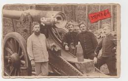 Tienen, Tirlemont, Tirlemont, Originele Foto Jean Leyssens, Artellerie Tienen Wereldoorlog I, Zeer Zeldzaam! - Documents Historiques