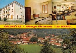Cartolina Coloretta Albergo Ristorante Da Mario Vedutine 1981 - Massa