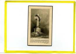 Simon Deblonde. Veuf Angele Berteloot DCD Sercus 1960 . Image Mortuaire Pieuse Décés - Esquela