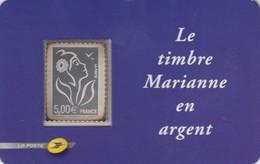 FRANCE - 2006 TIMBRE ADHÉSIF N°85 NEUF MARIANNE DE LAMOUCHE EN ARGENT / 6090 - France