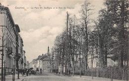 Le Parc St Geroges Et La Rue De Tournai KORTRIJK Courtrai - Kortrijk