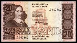AFRIQUE DU SUD - SOUTH AFRICA - 20 Rand - 1984-93 - P121a - Sign. 5 - UNC - Bateau - Afrique Du Sud