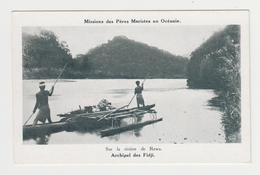 OR449 - Missions Des Pères Maristes En Océanie - Sur La Rivière De REWA - ARCHIPEL DES FIDJI - Fiji