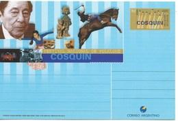 ARGENTINA 1999, COSQUIN NATIONAL FOLKLORE FESTIVAL, HORSES, MUSIC, FOOD, TRADICION, POSTAL STATIONARY - Enteros Postales