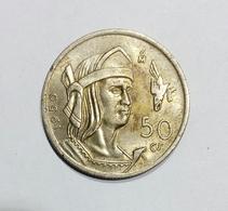 Messico / Mexico - 50 Centavos (1950) Silver / Ag - Messico