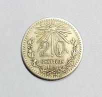 Messico / Mexico - 20 Centavos (1937) Silver / Ag - Messico