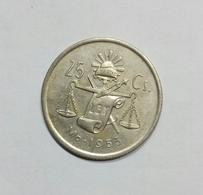 Messico / Mexico - 25 Centavos (1953) - Messico