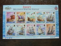2000 Millennium Maritime Heritage ** MNH - Jersey