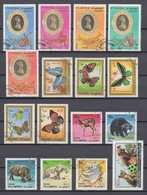 (11) Fudschaira/Fujairah/Fujeira - 32 Used Stamps From The Year 1971 - See 2 Scans - Fudschaira