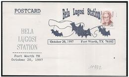 Stati Uniti/États-Unis/United States: Bela Lugosi, Pipistrello, Bat, Chauve-souris - Cinema