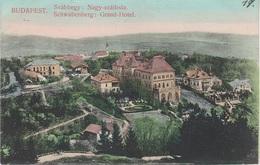 AK Budapest Schwabenberg Svabhegy Grand Hotel Nagy Szalloda Tram Österreich Hungary Ungarn Hongrie Hungaria Magyarorszag - Ungarn