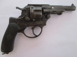REVOLVER MODELE 1874 MANUFACTURE SAINT ETIENNE - Armes Neutralisées