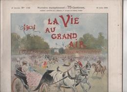 LA VIE AU GRAND AIR 16 06 1901 - NUMERO SPECIAL LE GRAND PRIX - HIPPISME - 1900 - 1949