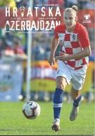 Sport Programme PR000075 - Football (Soccer Calcio): Croatia Vs Azerbaijan 2019-03-21 - Programs