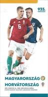 Sport Programme PR000076 - Football (Soccer Calcio): Hungary Vs Croatia 2019-03-24 - Programs