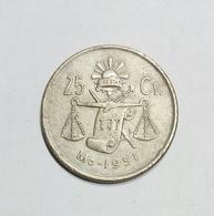 Messico / Mexico - 25 Centavos (1951) - Messico