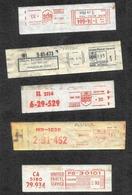 Stati Uniti/États-Unis/United States: Ema Meter, 9 Pezzi, 9 Pieces, 9 Pièces, Pacchi UPS, Colis UPS, UPS Parcel - Parcel Post & Special Handling