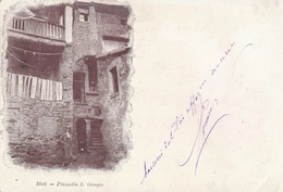 Cartolina - Postcard / Viaggiata -sent /  Rieti , Piazzetta S. Giorgio. - Rieti