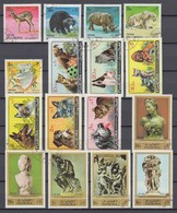 (13) Fudschaira/Fujairah/Fujeira - 32 Used Stamps, From The Years 1971-1972 - See 2 Scans - Fudschaira