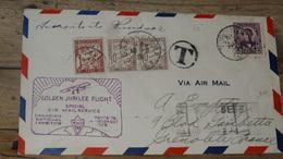 USA : Enveloppe Golden Jubilee Flight De 1928, Pour La France Taxée  …... … T78 - Etats-Unis