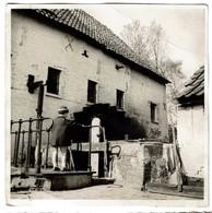 Photo 12,5 Cm X 12,5 Cm - C1950 - Vieux Moulin De Grimbergen - Moulin à Eau / Watermolen - 2 Scans - Places
