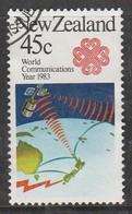 New Zealand 1983 Commemorations 45 C Multicoloured SW 884 O Used - New Zealand