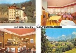 Cartolina Valtournanche Hotel Bijou Vedute - Non Classificati
