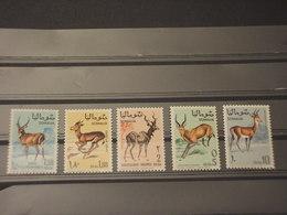 SOMALIA - 1968 ANIMALI 5 VALORI - NUOVI(++) - Somalia (1960-...)