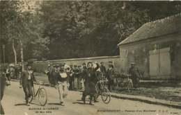 #200619F - 78 MARCHE DE L'ARMEE 29 MAI 1904 - ROCQUENCOURT Passage D'un Marcheur - Vélo Militaria - Rocquencourt