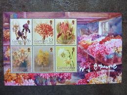 WJ Caparne  Flowers  ** MNH - Guernesey