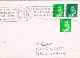 33166. Carta BILBAO 1978. Rodillo Certamen CINE Cortometraje, Cinema, Film - 1931-Hoy: 2ª República - ... Juan Carlos I