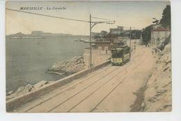 MARSEILLE - La Corniche (tramway ) - Endoume, Roucas, Corniche, Plages