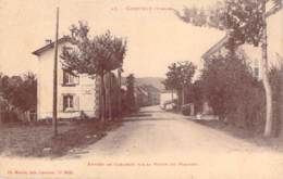 88 - Corcieux - Entrée De Corcieux Par La Route Du Plafond - Corcieux