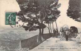 83 - Toulon - Vue Générale, Boulevard Du Faron (attelage) - Toulon