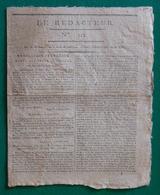 """Journal """"Le Rédacteur"""" - N° 112 - Mardi 5 Avril 1796 - Kranten"""