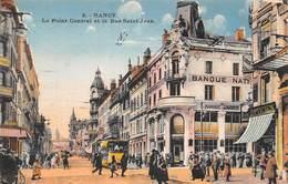 Nancy (54) - Le Point Central Et La Rue St Saint Jean - Nancy