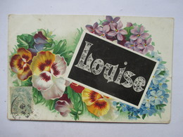 LOUISE   -  FLEURS              TTB - Nombres