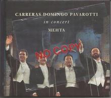 The Three Tenors In Concert, Carreras, Domingo, Pavarotti. Annullo Celebrativo Modena 21.6.1997. - Musica