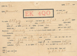 R 414 / CARTE RADIO AMATEURS  DEUTSCHE  E K 4  Q O - Radio Amateur
