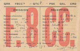 R 428 / CARTE RADIO AMATEURS   SUQUET  CHATILLON SUR SEINE - Radio Amateur