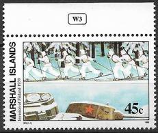 1989 Marshall Islands Mi. 275 **MNH Geschichte Des Zweiten Weltkrieges : Sowjetische Invasion In Finnland. - Marshall