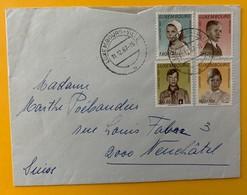 8715 - Lettre De Luxembourg-Ville 11.12.1967 Pour La Suisse Timbres Caritas - Luxembourg
