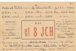 R 445 / CARTE RADIO AMATEURS       E F 8 J C H - Radio Amateur