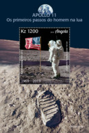 Z08 ANG190119b ANGOLA 2019 Neil Armstrong Moon Landing MNH ** Postfrisch - Angola