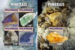 Z08 MOZ190306ab Mozambique 2019 Minerals MNH ** Postfrisch - Mozambique