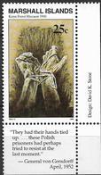 1990 Marshall Islands Mi. 297 **MNH Geschichte Des Zweiten Weltkrieges :  Massaker Von Katyn - Marshall