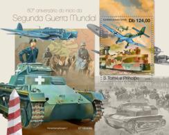 Z08 ST190406b Sao Tome And Principe 2019 World War II MNH ** Postfrisch - São Tomé Und Príncipe